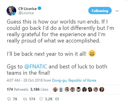 C9成员赛后言论:整个西方与FNC同行!